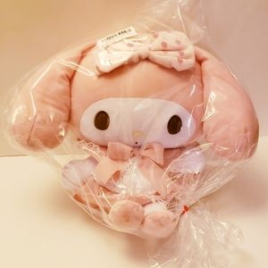 My Melody Girly Sweet Pink BIG Plushy